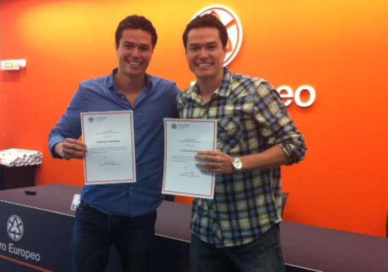 Twin brothers Bernardo and Pablo from Rayo Credit at Dale Ventures Personal Holding Group