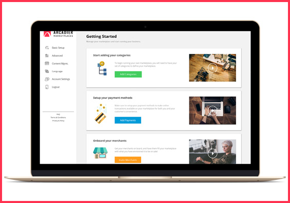 Arcadier is the ecommerce online marketplace platforms & solutions